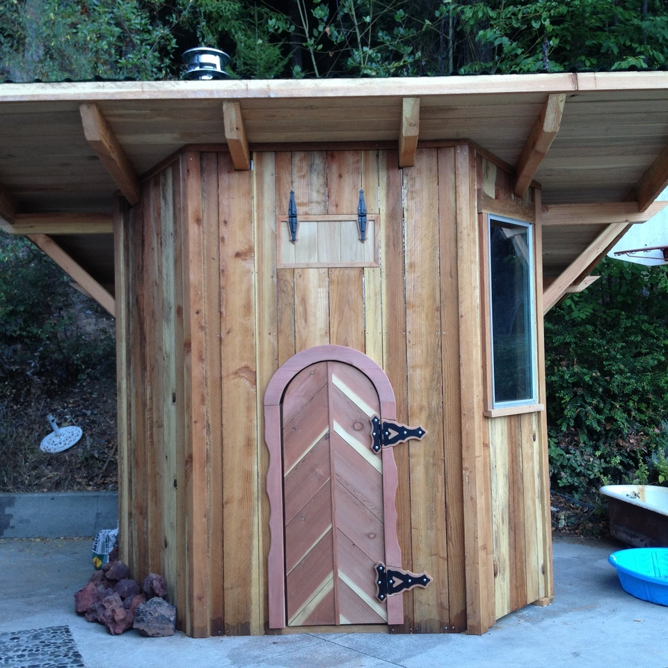 Stationary Custom Sauna