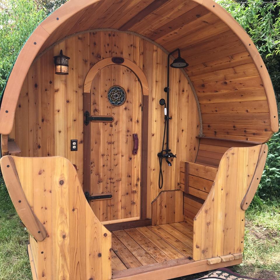 Sauna Exterior Custom